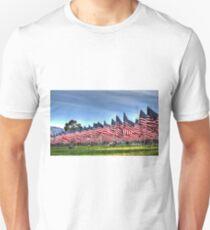 911 Flag Memorial: USA Unisex T-Shirt