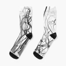 Mathengyger The Warrior, The Disciple and the Crucible of the Witness Socks