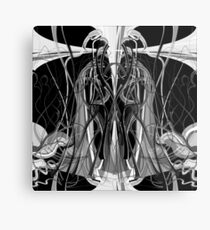 Mathengyger The Warrior, The Disciple and the Crucible of the Witness Metal Print