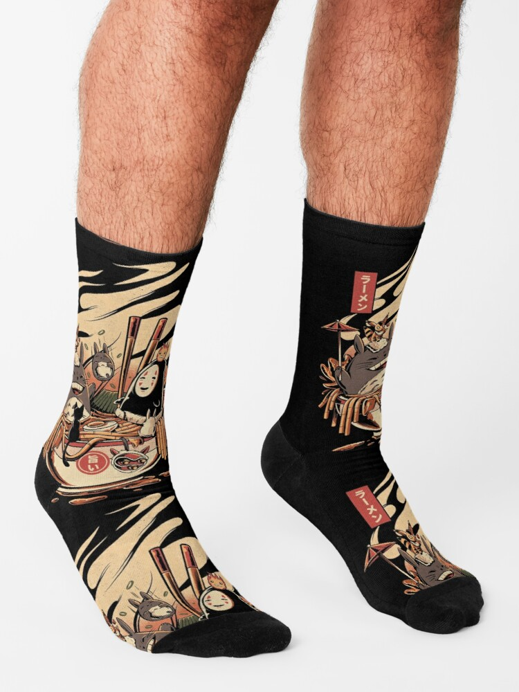 Alternate view of Ramen pool party Socks