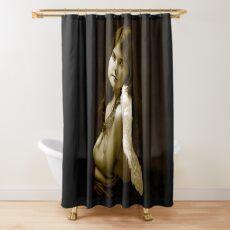 SEPIA PORTRAIT Shower Curtain