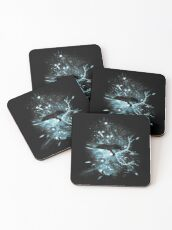 Space Trap Coasters