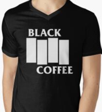 Black Flag Coffee  Men's V-Neck T-Shirt