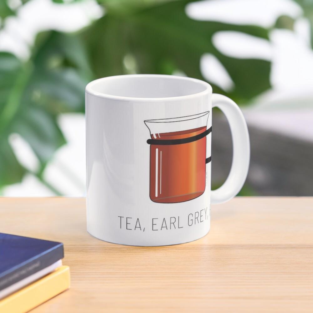 Tea, Earl Grey, Hot - Captain Picard, Star Trek TNG, (light backgrounds) Mug