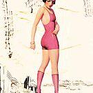 pink swimsuit, 2011 by Thelma Van Rensburg