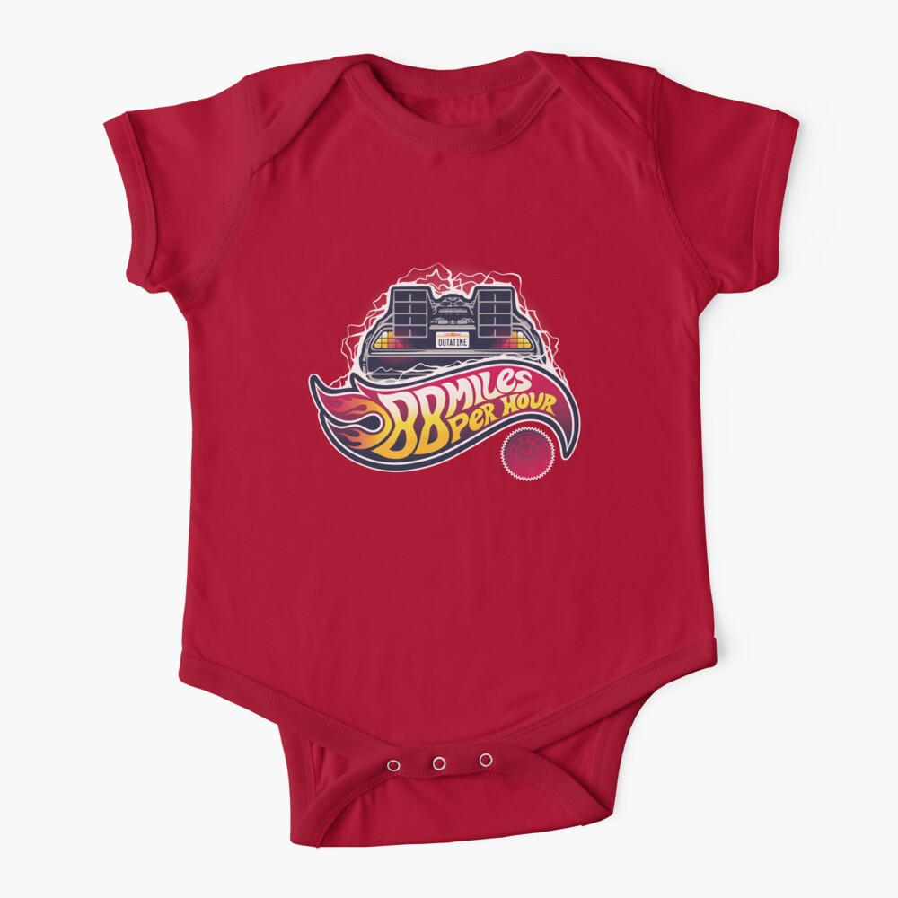 Hot Wheels to the Future Baby One-Piece