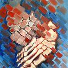 Foot study by Ellen Marcus