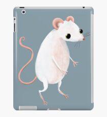 Mignonne petite souris blanche Coque et skin adhésive iPad