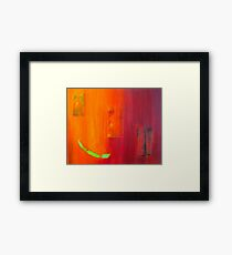 Slice - Abstract Framed Print
