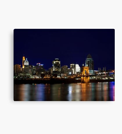Cincinnati SkyLine 4 Canvas Print