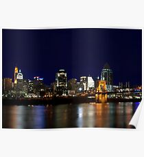 Cincinnati SkyLine 4 Poster