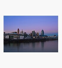 Cincinnati SkyLine 5 Photographic Print