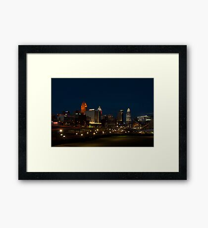 Cincinnati SkyLine 6 Framed Print