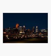 Cincinnati SkyLine 6 Photographic Print