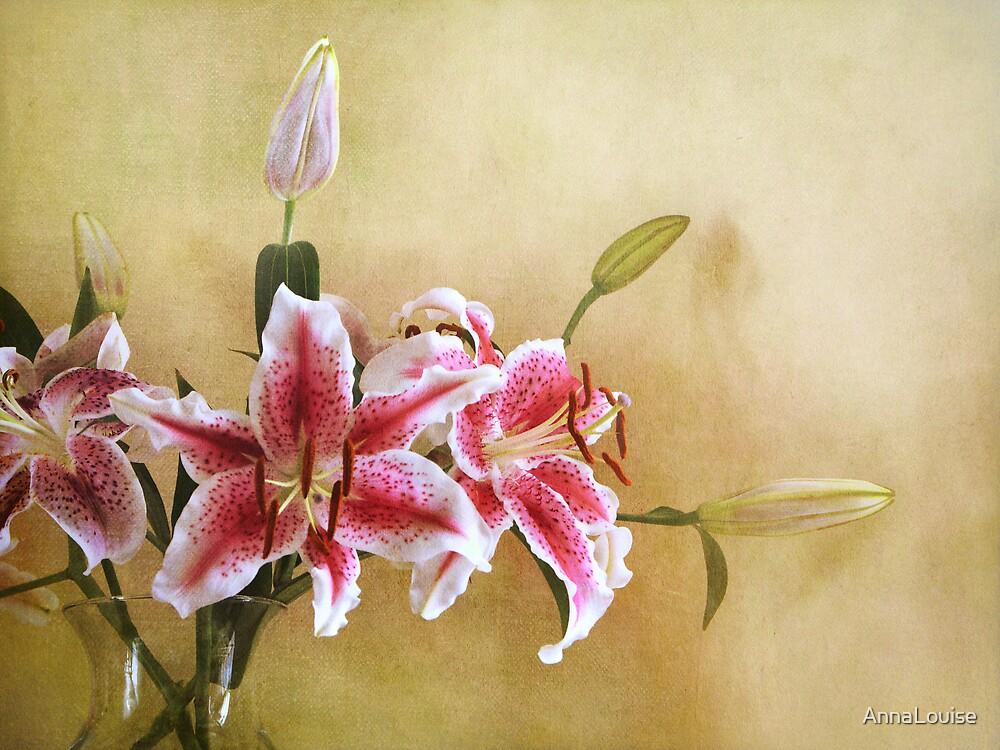 Star Gazer Lilies I by AnnaLouise