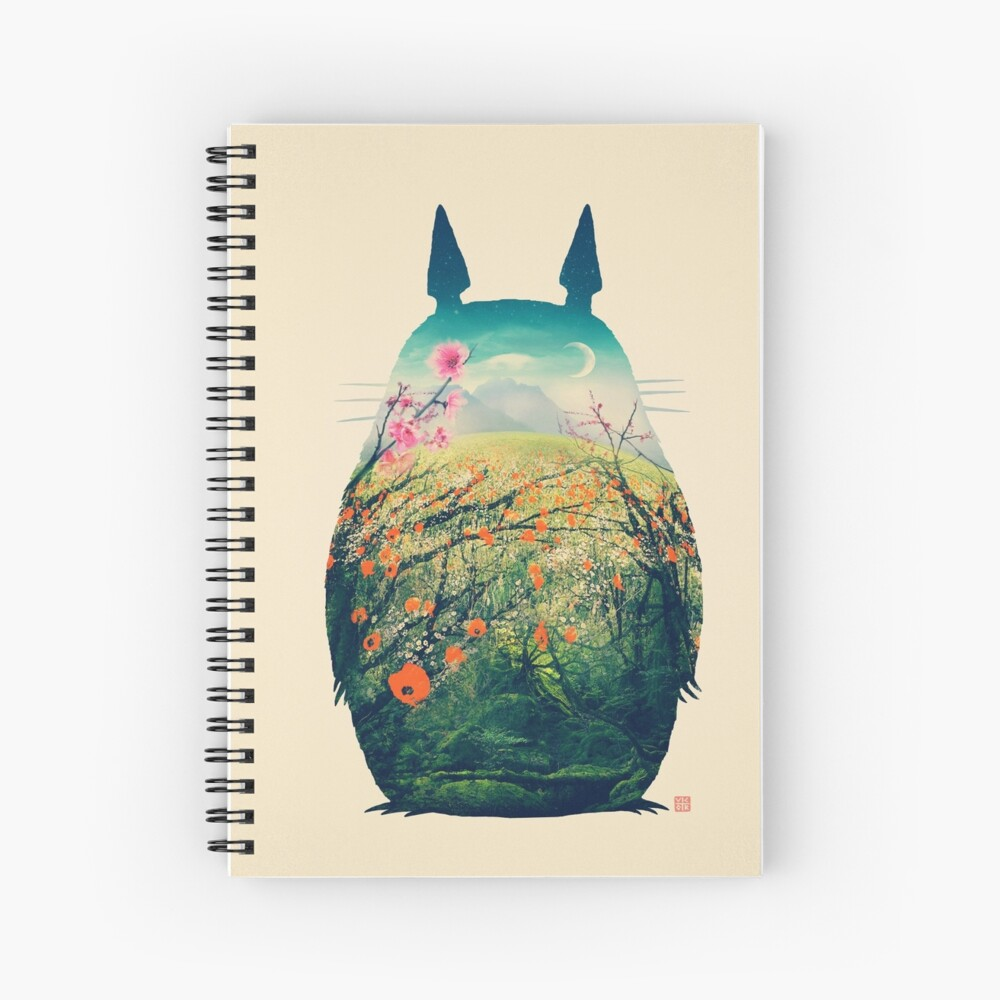 Tonari No Totoro Spiral Notebook