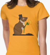 Dandelion Degu Fitted T-Shirt