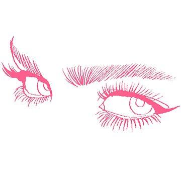 Pink eyes by savhynes