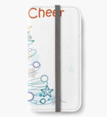 Holiday Cheer Christmas Tree iPhone Wallet/Case/Skin