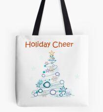Holiday Cheer Christmas Tree Tote Bag