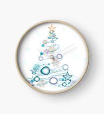Holiday Cheer Christmas Tree Clock