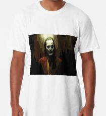 Joker Joaquin Phoenix Paint Long T-Shirt