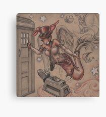 ComicCon Winged Merbunny Canvas Print