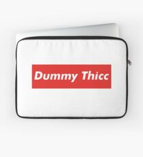 Dummy Thicc Meme Laptop Sleeve