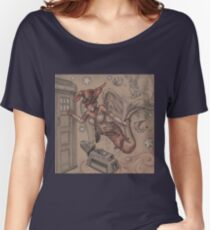 ComicCon Winged Merbunny Women's Relaxed Fit T-Shirt