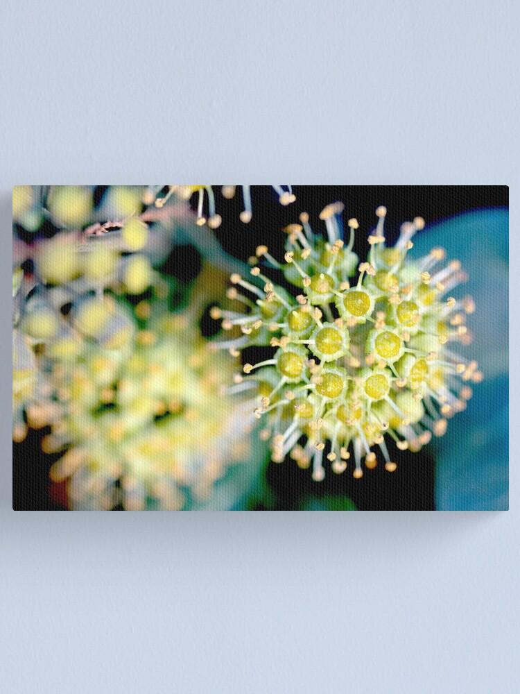Alternate view of atomic flower Canvas Print