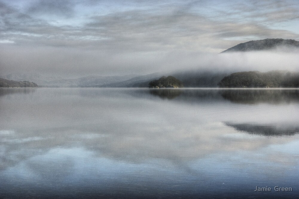 Across Coniston Water... by Jamie  Green