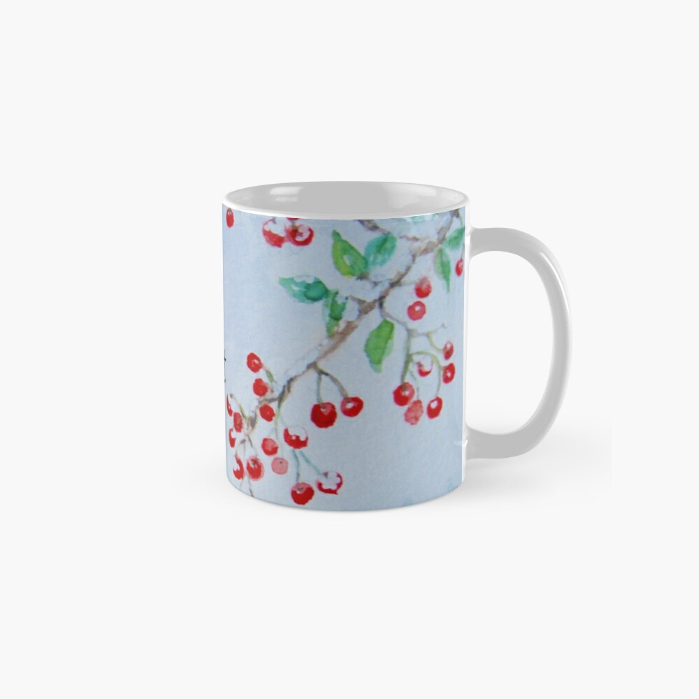 Merry & Bright - Snow on the Berries Mug