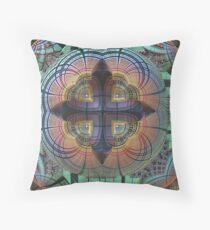 Venus Fly Trap Throw Pillow