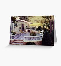 Creative Patio Greeting Card