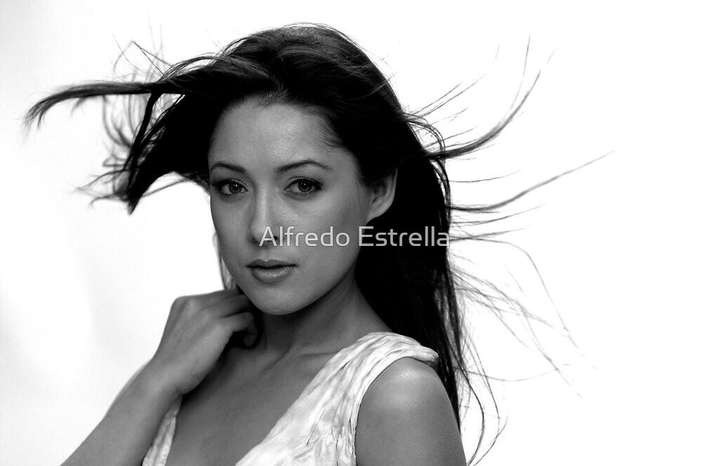 The Look by Alfredo Estrella
