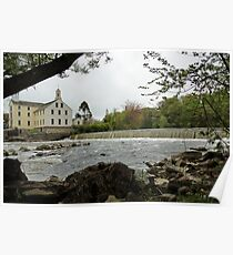 Slater Mill and Dam Poster