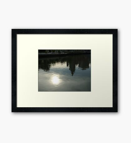Reflections of a City Framed Print