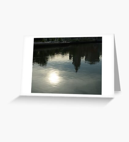 Reflections of a City Greeting Card