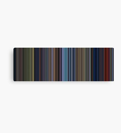 Moviebarcode: Bambi (1942) [Simplified Colors] Canvas Print