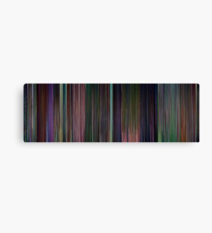 Moviebarcode: Alice in Wonderland (1951) Canvas Print