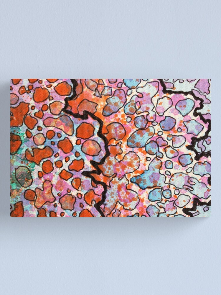 Alternate view of 6, Inset B Canvas Print