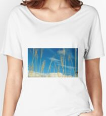 Wheat In The Sky Women's Relaxed Fit T-Shirt