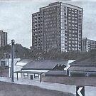 Council Flats by Joan Wild