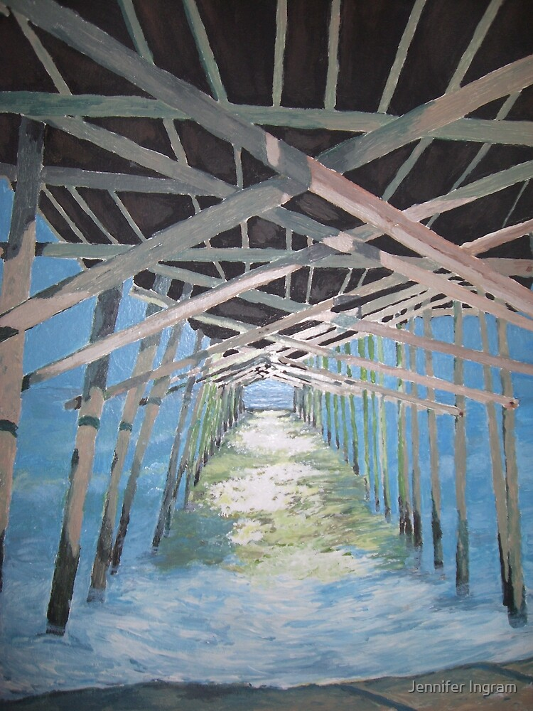 Emerald Isle Pier by Jennifer Ingram