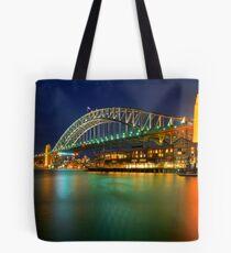 Bridge at night Tote Bag