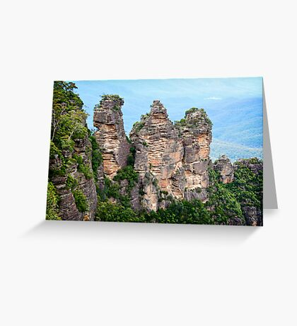 { three sisters } Greeting Card