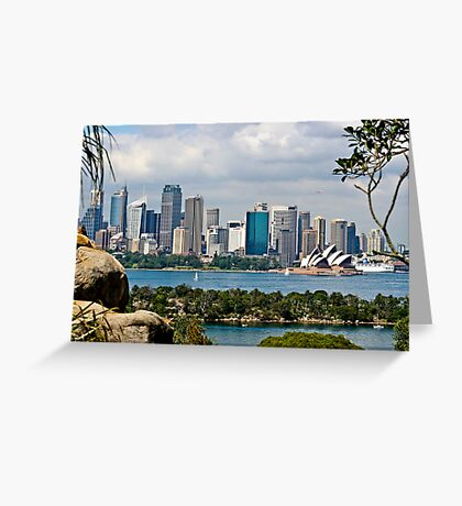 { sydney cityscape } Greeting Card