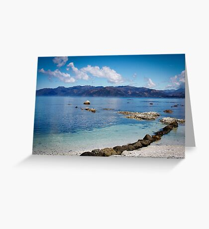 { kaikoura beach } Greeting Card
