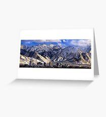 Salt Lake City - Panorama Greeting Card