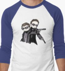 Boondock Plushies Men's Baseball ¾ T-Shirt